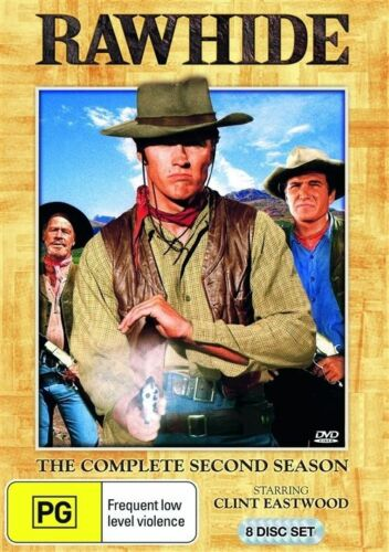 1 of 1 - RAWHIDE : SEASON 2 : NEW DVD