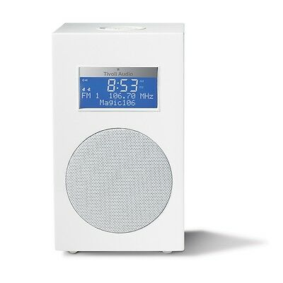 Tivoli Audio Model10 Single in Weiß/Silber Kultradio FM/AM