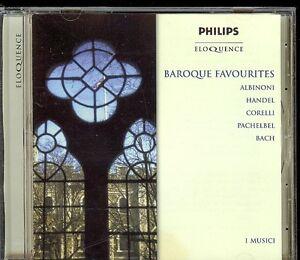 Albinoni-Pachelbel-Handel-Bach-Australia-Baroque-Favourites-I-musici-CD