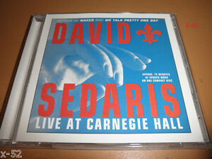 DAVID-SEDARIS-cd-LIVE-at-CARNEGIE-HALL-new-york-city