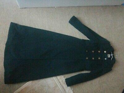 Donna Lunga Abaya Turco Verde Giuba Cappotto-mostra Il Titolo Originale Le Merci Di Ogni Descrizione Sono Disponibili