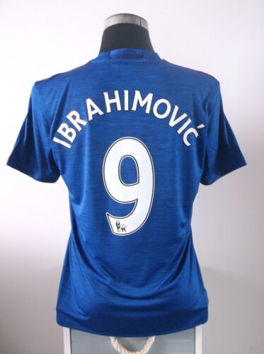 IBRAHIMOVIC #9 BNWT Manchester United Away Football Shirt Jersey 201617 M