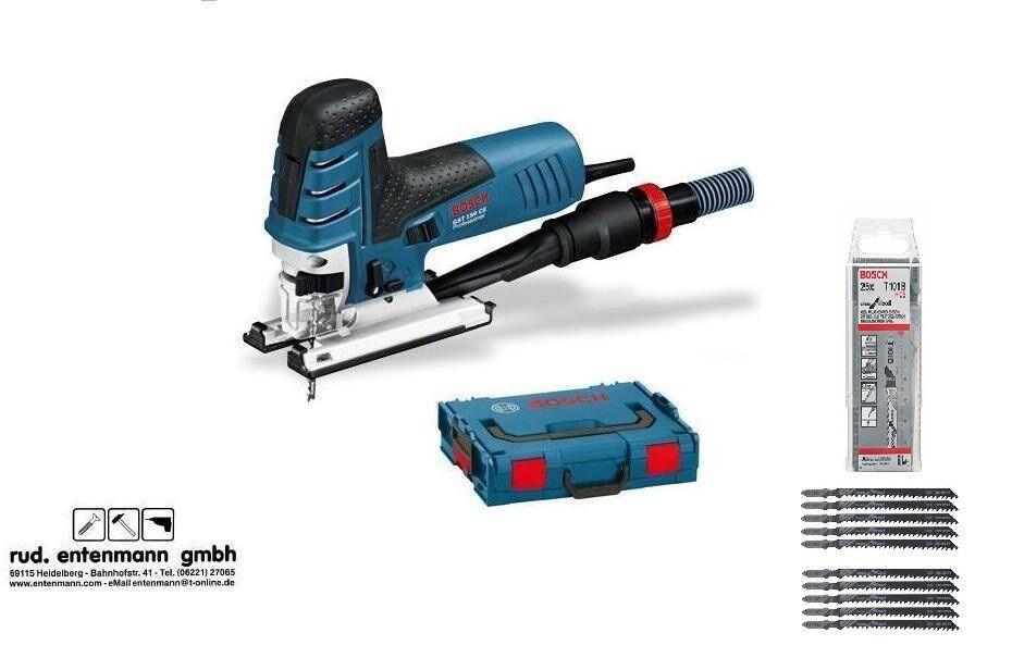 Bosch Stichsäge GST 150 CE Professional in der L-BOXX mit 35 Stichsägeblätter
