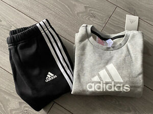 BOYS ADIDAS TRACKSUIT / JOGGER SET - SIZE 3-4 YEARS - REGULAR FIT - BRAND NEW