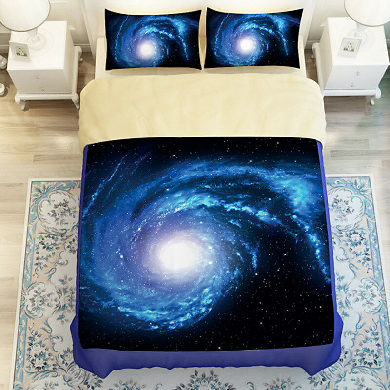 3D Nebula Sky 687 Bed Pillowcases Quilt Duvet Cover Set Single Queen AU Carly