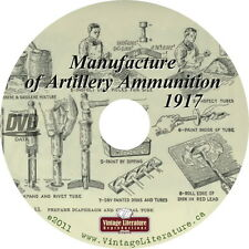 Manufacture of Artillery Ammunition {1917 Shell Ammo Design Development} on DVD