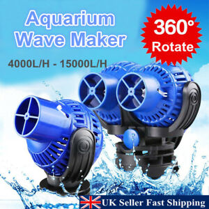 4000-15000L//H Aquarium Fish Tank 360 Water Wave Maker Pump Powerhead Magnet NEW