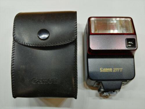 Canon Speedlite 277T Shoe Mount Flash