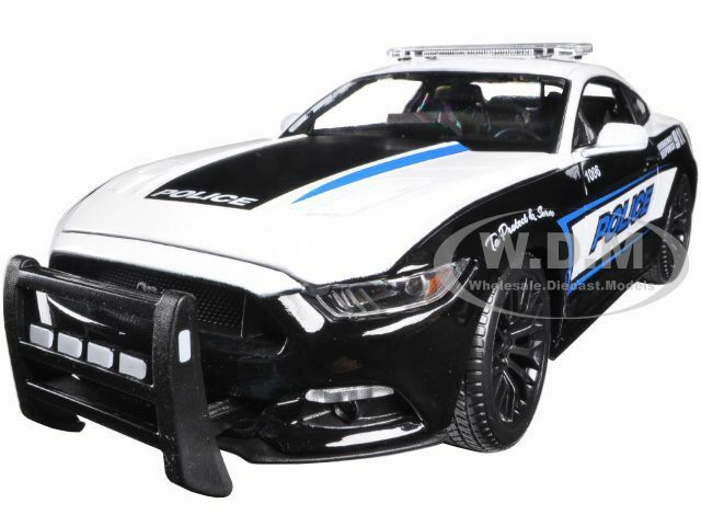 2015 FORD MUSTANG GT 5.0 POLICE 1 1 1 18 DIECAST CAR MODEL BY MAISTO 36203 90ceef