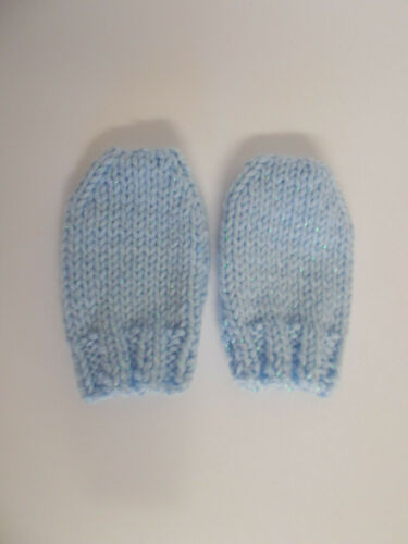 0-3 months More Colours Hand Knitted Baby Mittens Twinkle Baby Mittens Newborn