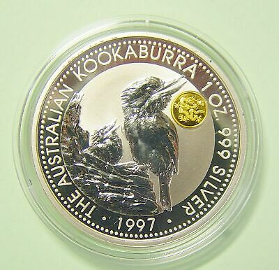 Dragon Privy Mark Agreeable To Taste Münzen Bullion-münzen Diplomatic Australien 1 $ Kookaburra 1997 1 Oz