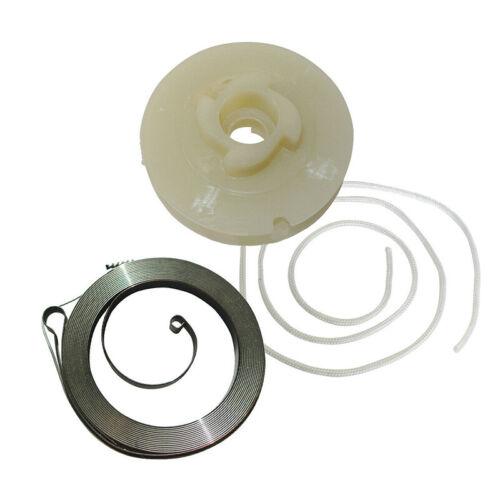 Reversierstarter Feder /& Zugseil für Chinesisch 5200//4500//52cc//45cc Kettensäge