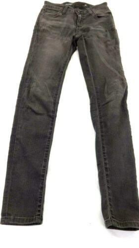 ADRIANO GOLDSCHMIED KIDS BLACK DENIM THE TWIGGY SUPER SKINNY JEANS SIZE 10