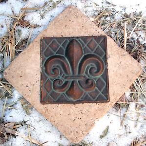 Fleur-de-lis-travertine-tile-mold-casting-mould