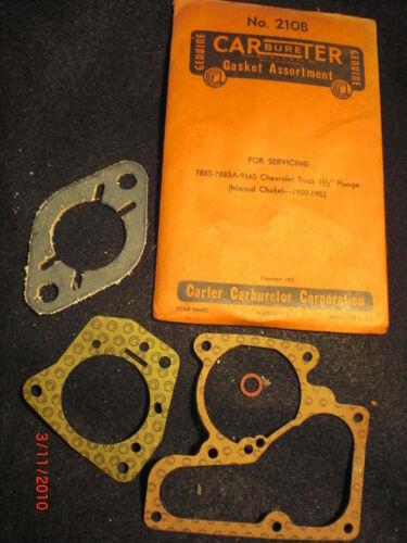 1950-1951-1952 Chevrolet Truck Carburetor O/H Kit: 788S-966S