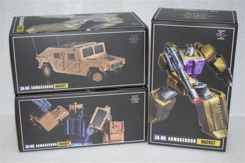 NEW Transformers Toys Zeta ZA-05 Armageddon RACKET G1 Swindle New in Stock