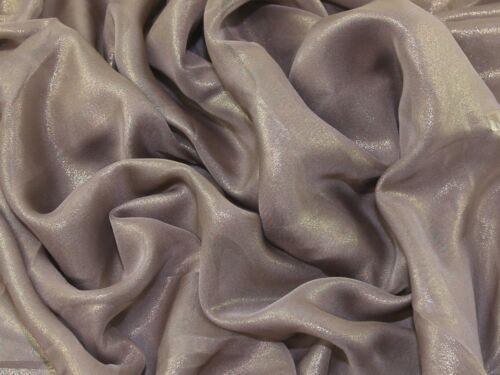 Shimmer Chiffon Foil Dress Fabric PAN-ShimCF-3-M
