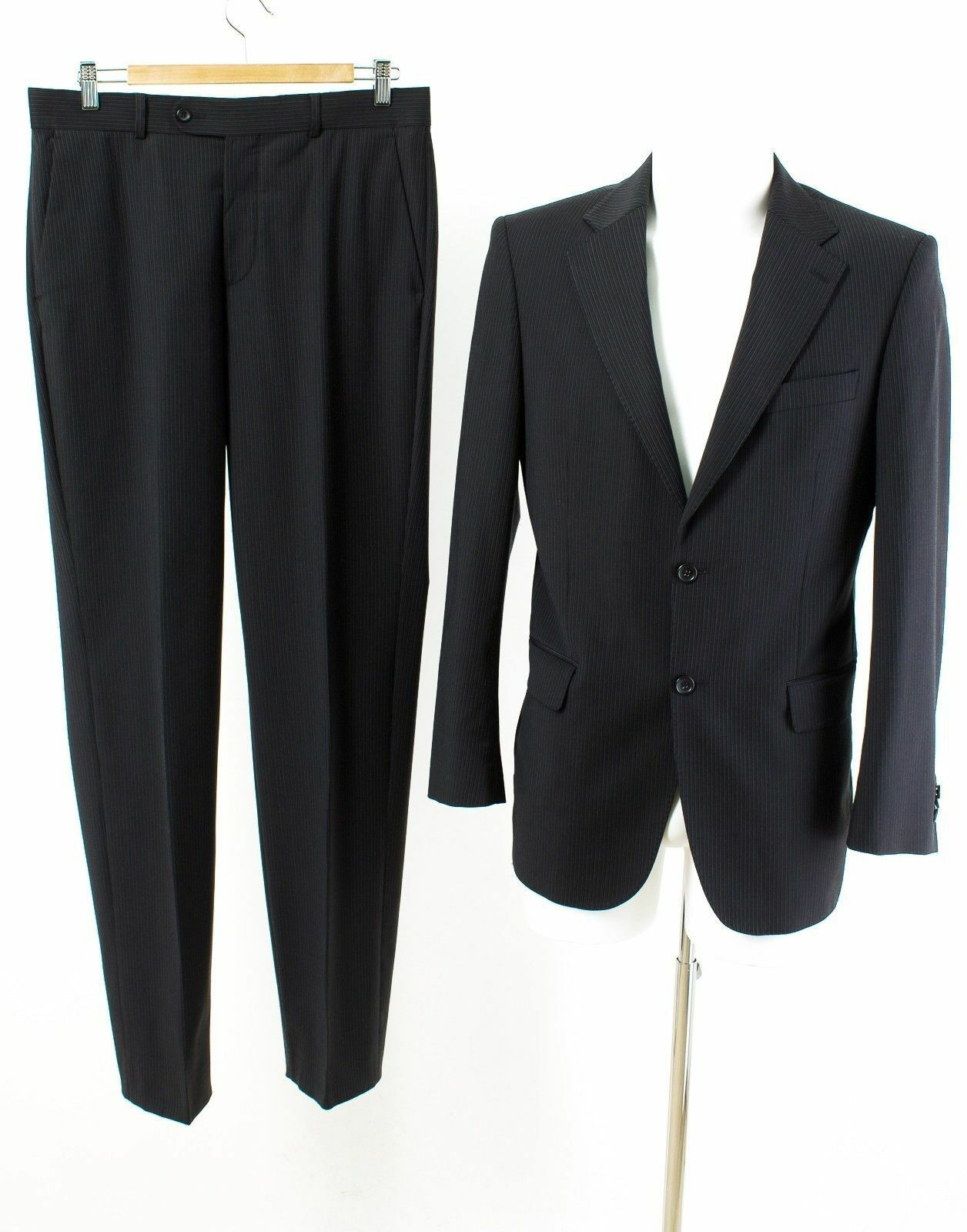 LAWRENCE BY LAWRENCE GREY Anzug Gr. S   48 Wolle (SUPER 140'S) Business Suit