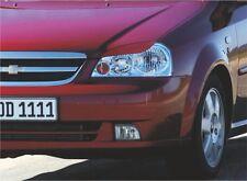 Cilia head lights Headlights eyebrows Chevrolet Lacetti sed 2003- eyebrows 1