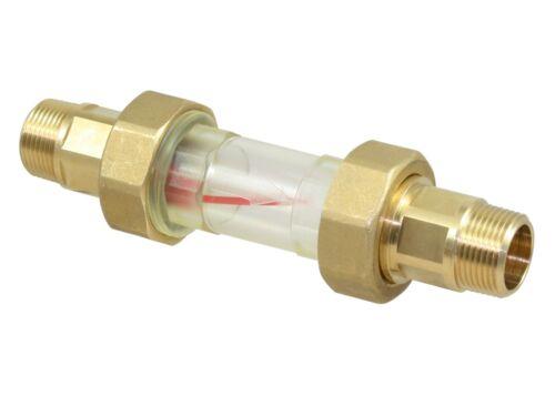 Umwälzanlagen für Heizgeräte Suevia Durchflussanzeige Mod 309 101.0309