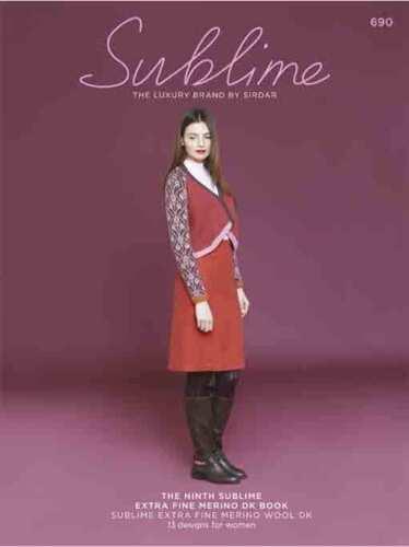 La novena Sublime Extra Fino Merino DK Libro 690