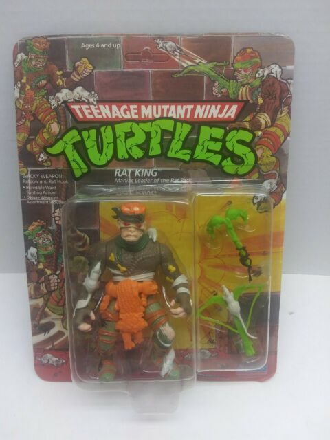 Nickelodeon Era Rat King Vintage Teenage Mutant Ninja Turtles Action Figure