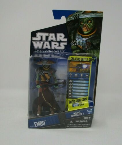 Embo Bounty Hunter CW33 2011 STAR WARS The Clone Wars TCW MOC