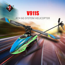 WLtoys V911s 4ch Non-aileron RC Helicopter Aircraft Remote Controller Gift Q8w9