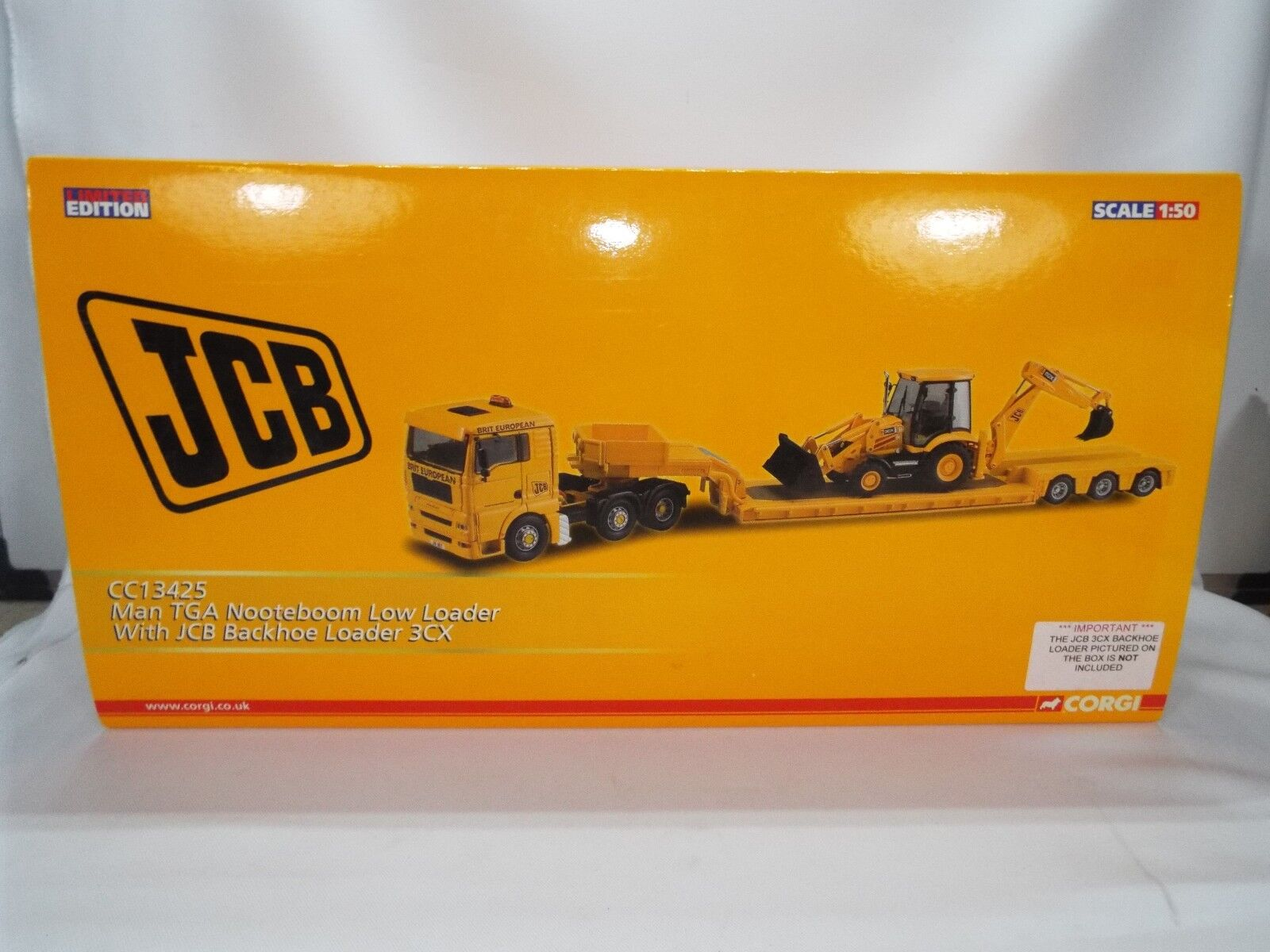 Corgi JCB Set No 13425 and is the MAN TGA and Nooteboom ,complete with JCB