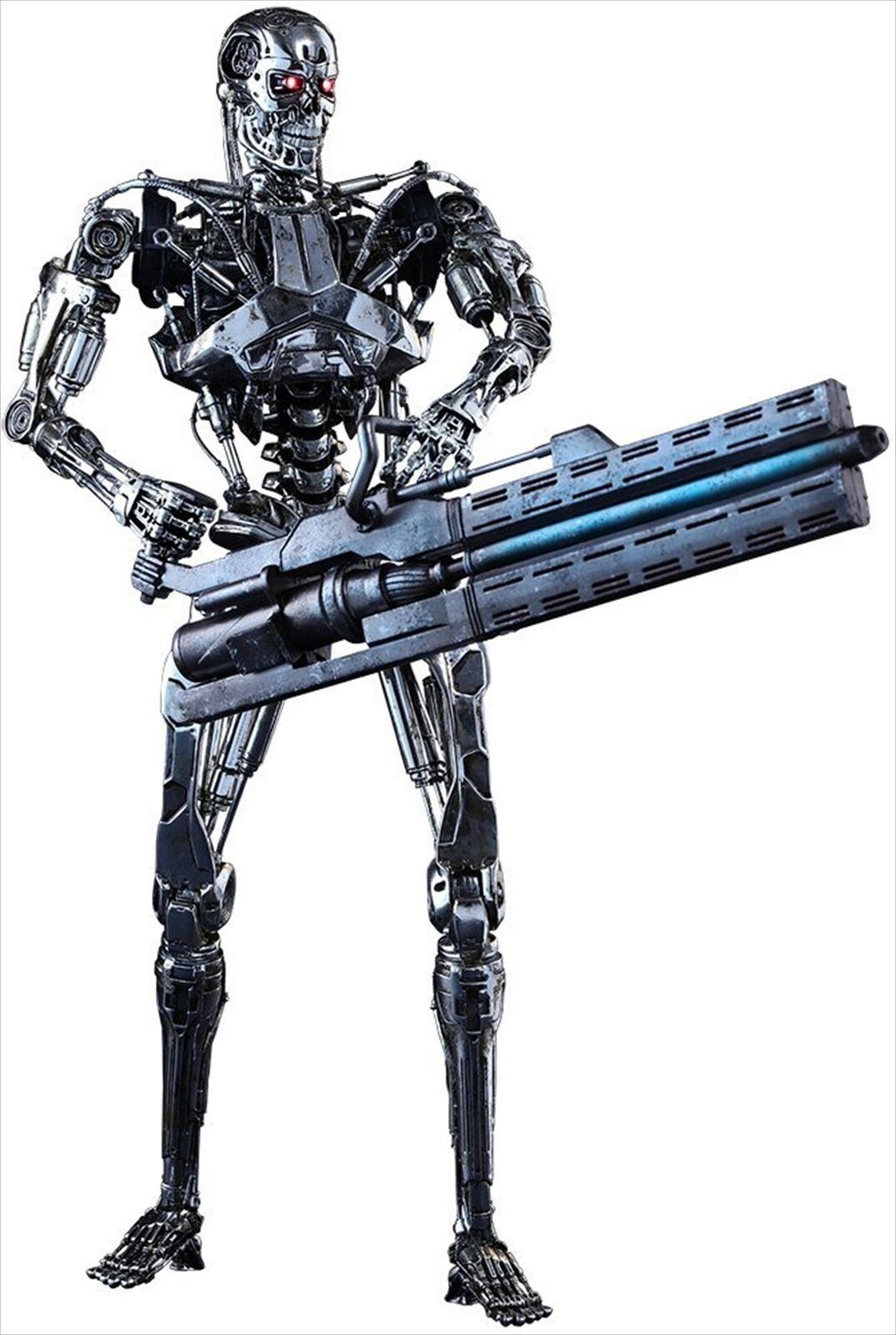 Hot Toys Movie Masterpiece Terminator Genisys final esqueleto 16 Figura De Acción