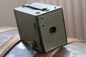 Kodak-No-2-GREY-Brownie-Box-Camera