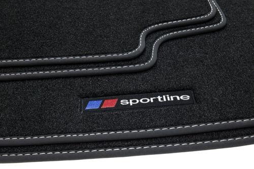 Sportline Fußmatten für Ford Focus´11 3 2010-2014 Generation Bj