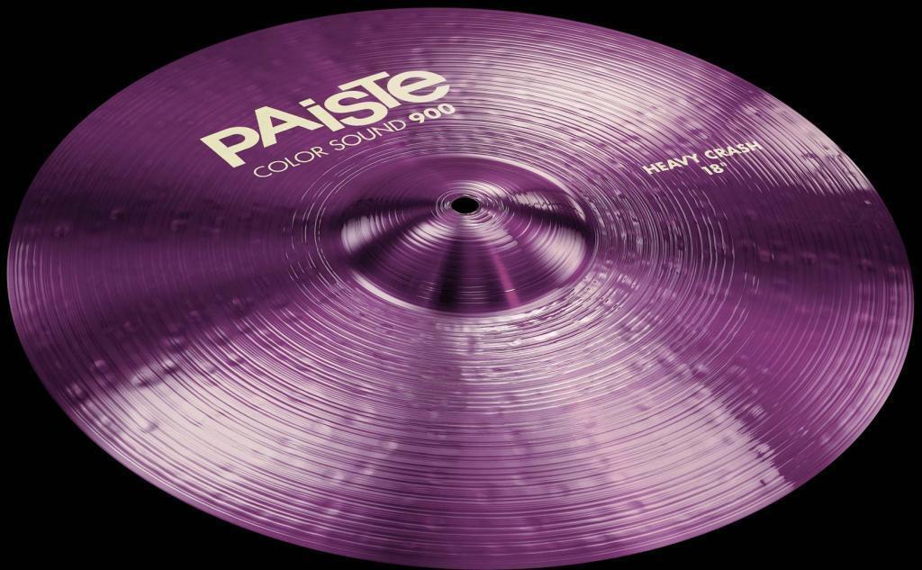 Paiste 900 Farbe Sound lila Heavy Crash 16