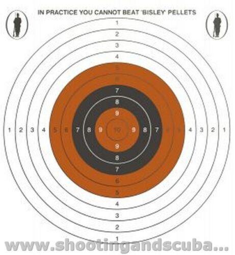 14cm unique spot couleur économie cibles-pack de 20 pour pistolet à air rifle pistol