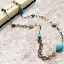 lia sophia emerald necklace  / turquoise