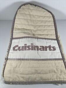 Cuisinart Food Processor Decorative Cover Cloth Vintage