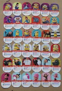 Rewe Karte.Details Zu Minions Sammelkarte 3 Aus 36 Karten Aussuchen Rewe 2017 Sticker Karte Ostern