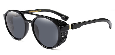 Futuristic Sunglasses Robot Shield Shape Terminator Frame Mirrored Men Glasses