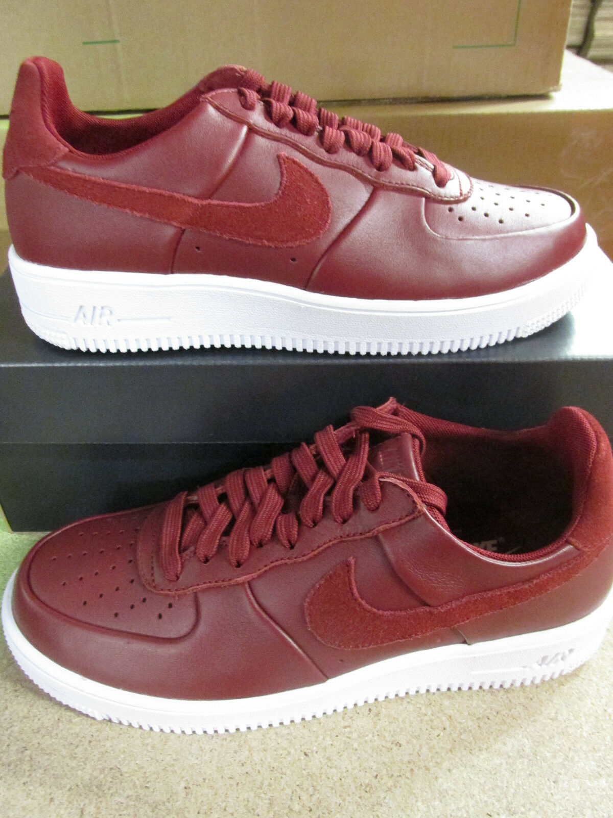 Nike Trainers Air Force 1 Ultra Force LTHR Mens Trainers Nike 845052 600 Sneakers Shoes 2f9741