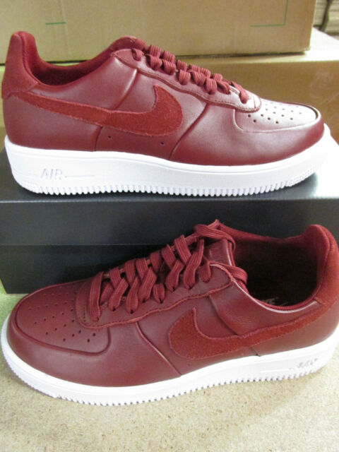 a7fe957f2e Nike Air Force 1 Ultra Force LTHR Mens Trainers 845052 600 Sneakers Shoes