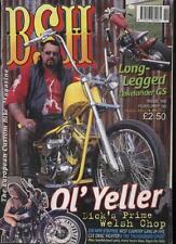 BSH THE EUROPEAN CUSTOM BIKE MAGAZINE - February 1998
