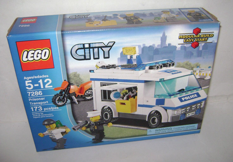 garanzia di credito Nuovo 7286 Lego città Prisoner Transport Transport Transport costruzione giocattolo SEALED scatola RETIrosso RARE A  ordina adesso
