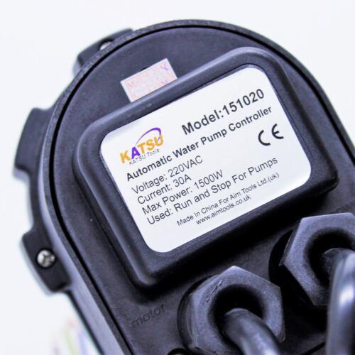 151020 Automatico Pompa Acqua Pressione Controller Elettronica Interruttore Regolabile