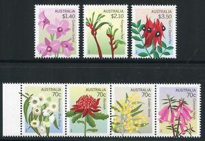 Australia-Australia-2014-Fiori-Flowers-Piante-plants-Blossoms-MNH