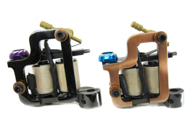 Iron Wrecking 8-Wrap Coil Tattoo Machine Hard Hitting Liner or Shader Supply
