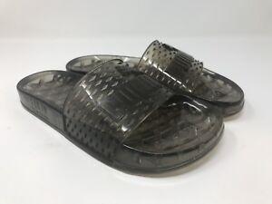0c99bede2582 Women s Puma Fenty By Rihanna Jelly Slide Sandals Black Sz 7.5