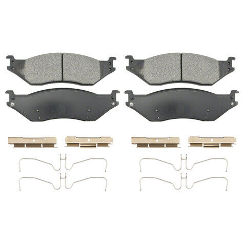 Disc Brake Pad Set-SevereDuty Disc Brake Pad Front//Rear WAGNER SX1066
