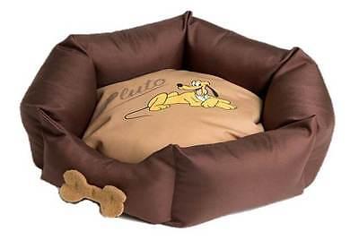Gelernt Disney Pampered Pluto Venus Katzenbett Hundebett Haustier-bett Braun Neu!