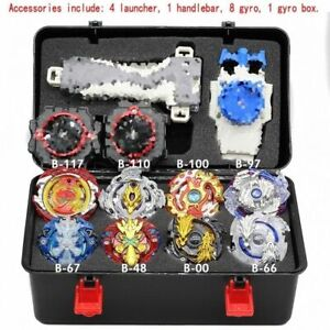 4D-Beyblade-Burst-Metal-Set-B-Fusion-W-4-Launcher-Beyblade-Spinning-Booster-Toys