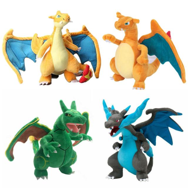 Pokemon Charizard Soft Plush Doll Dragon Stuffed Toy 8 Inch Christmas Gift